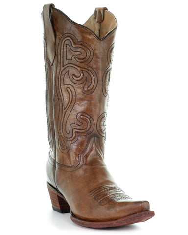 Women's Corded Embroidered Boots