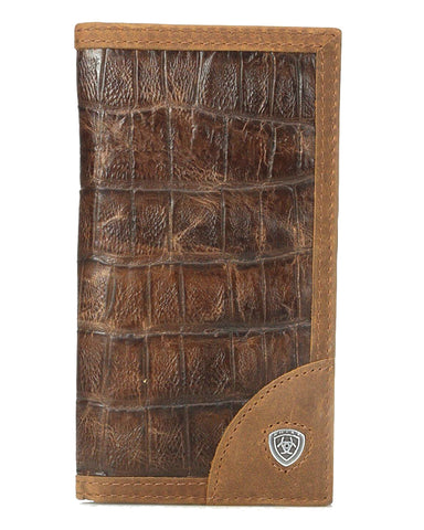 Crocodile Print Rodeo Wallet