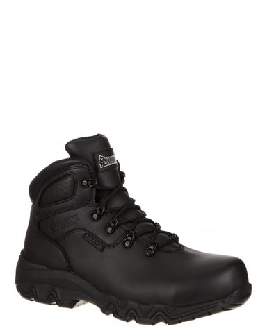 Mens Rocky Bigfoot Lace-Up Boots - Black