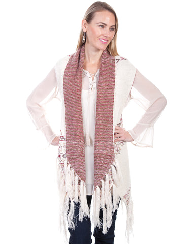 Women's Sleeveless Knit Cardigan