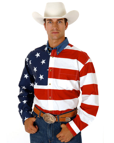 Mens Stars & Stripes Shirt