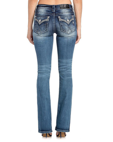 Women's Feminine Power Boot Cut Jeans