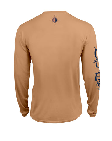 Salt Life Captain SLX UVaporn Long Sleeve Shirt