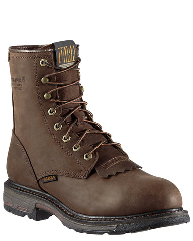 Mens Workhog 8 H20 Comp-Toe Boots