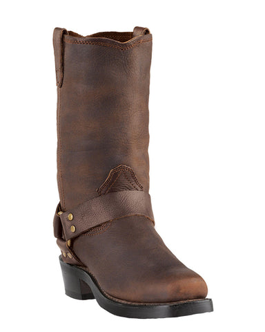 Men's Dean Harness Boots - Brown