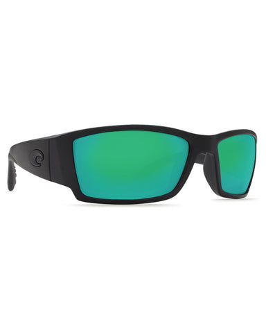 Corbina Blackout Mirror Sunglasses - Green