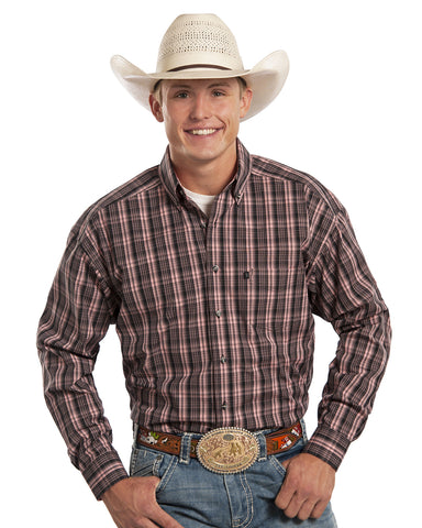 Mens Tuf Cooper Plaid Western Shirt