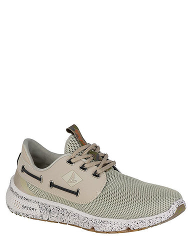 Men's 7 Seas White Camo Boat Shoes