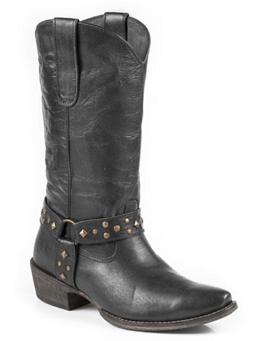Women's Studded Antique Boots