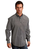 Men's Mitre Geo Long Sleeve Western Shirt