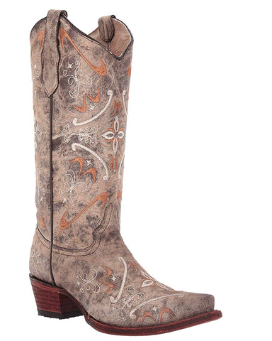 Women's Corral Circle G Embroidered Boots