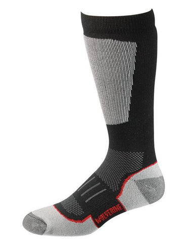 Ultimate Safety Over The Calf Boot Socks - Black