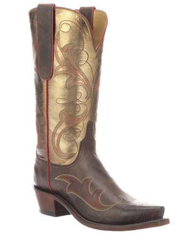 Womens Tansy Metallic Western Boots