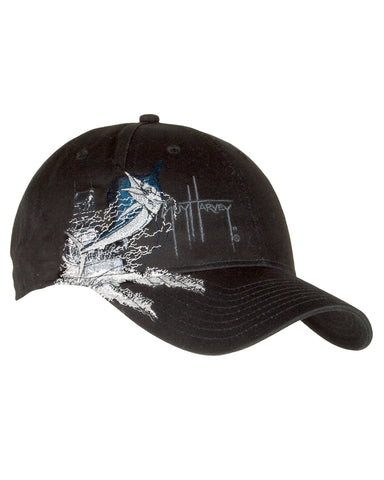 Guy Harvey's Sailfish Boat Ball Cap