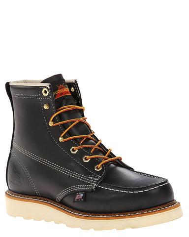 "Men's 6"" Moc Toe Lace-Up Boots"
