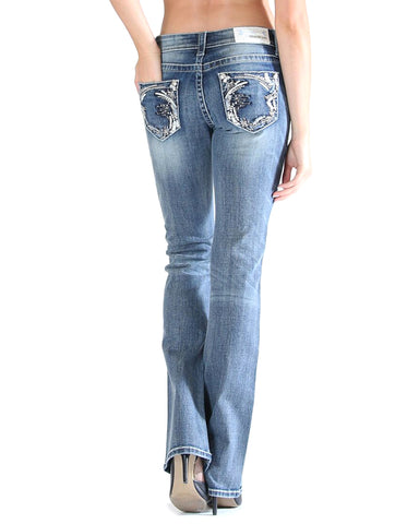 Women's Codie Embroidered Jeans