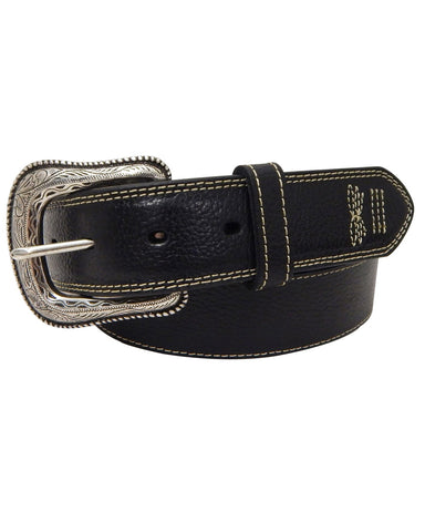 Mens Western Leather Belt