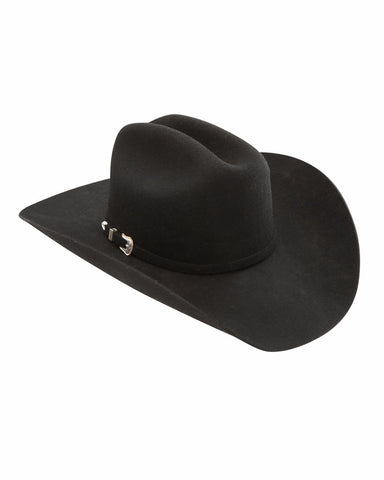 Stetson's 3X Oak RIdge Wool Hats - Black