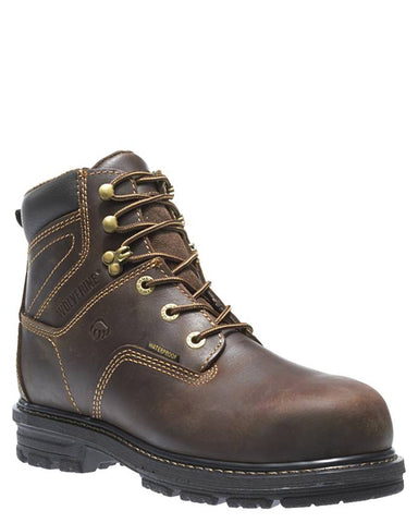 "Mens Nolan 6"" H20 Comp-Toe Lace-Up Boots"