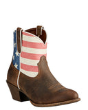 Womens Old Glory Gracie Boots