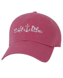 Women's Signature Anchor Ball Cap - Rose