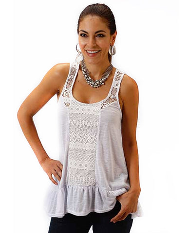 Women's Gypsy Paradise Tank Top - White