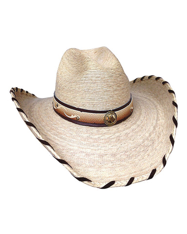 Bullhide Outlaw Trail Palm Leaf Straw Hat