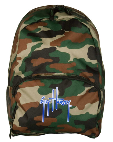 Guy Harvey Mini Backpack - Army