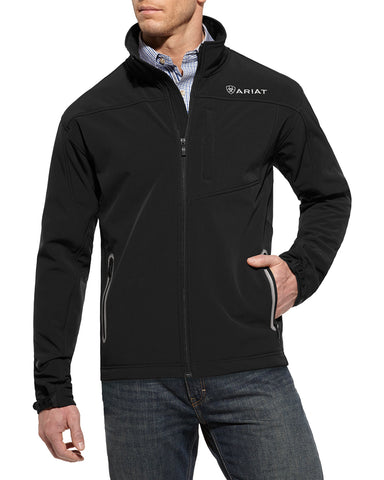 Men's Vernon Softshell Jacket - Black