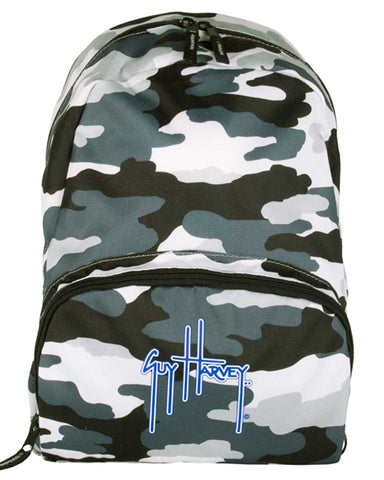 Guy Harvey Mini Backpack - Grey