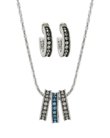 Once In A Blue Moon Jewelry Set