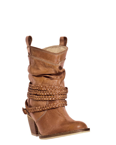 Women's Twister Sister Boots - Tan