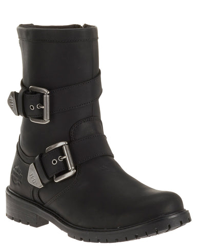 Men's Wilder Buckle Side-Zip Boots