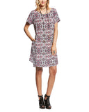 Womens Paula Aztec Pocket Dress