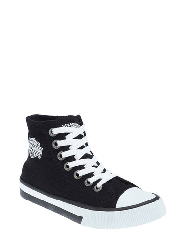 Men's Nathan Hi-Top Canvas Lace-Up Shoes