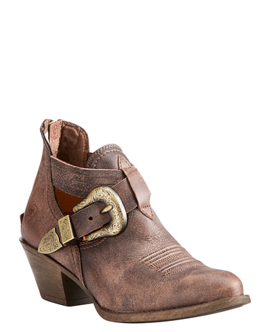 Womens Dulce Harness Short Boots