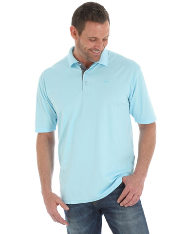 Mens 20X Advanced Comfort Performance Polo - Blue