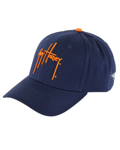 Guy Harvey's Team Colors Ball Cap - Navy