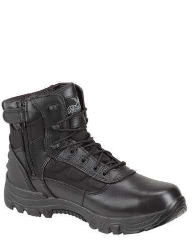 "Men's 6"" Side Zip Lace-Up Boots"