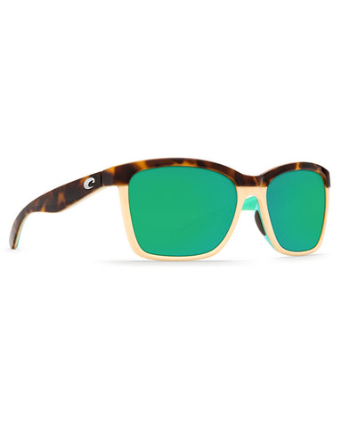 Anaa Green Mirror Sunglasses