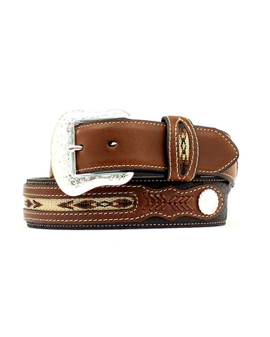 Mens Top Hand Belt - Black