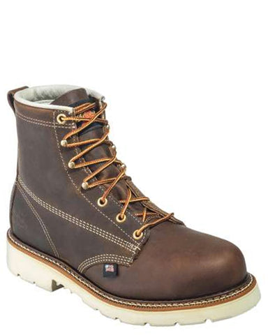 "Mens 6"" EH Steel Toe Lace-Up Boots"