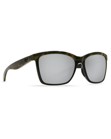 Anaa Silver Mirror Sunglasses