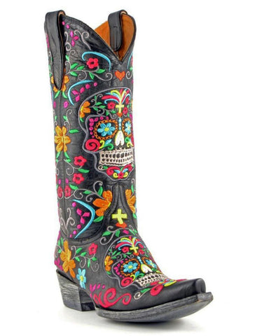 Womens Klak Day Of The Dead Boots