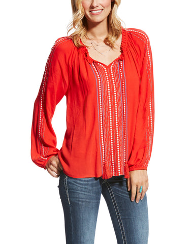 Women's Shawna Long Sleeve Blouse