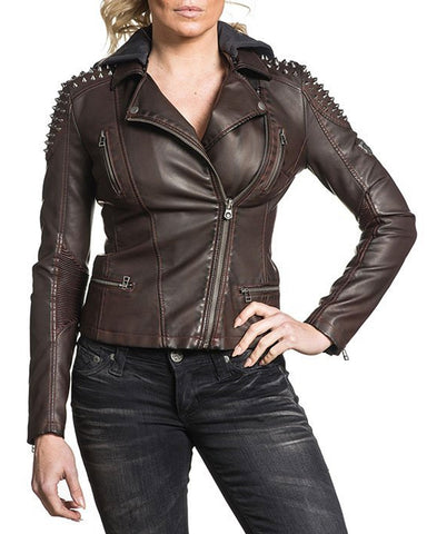Women's Spiked Out Jacket