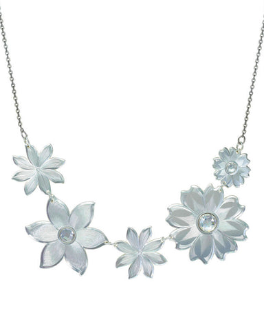 Womens Treasures Starlight Bouquet Necklace
