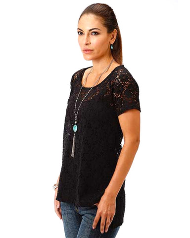 Women's Viva La Vida Lace Blouse