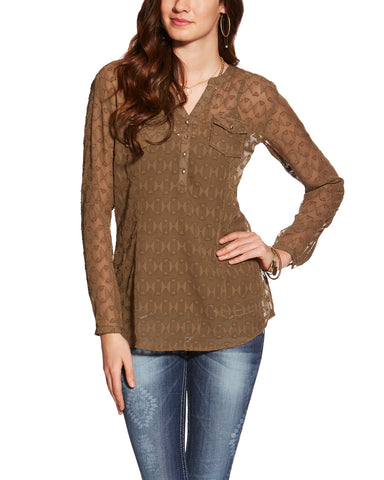 Women's Willa Top - Olive