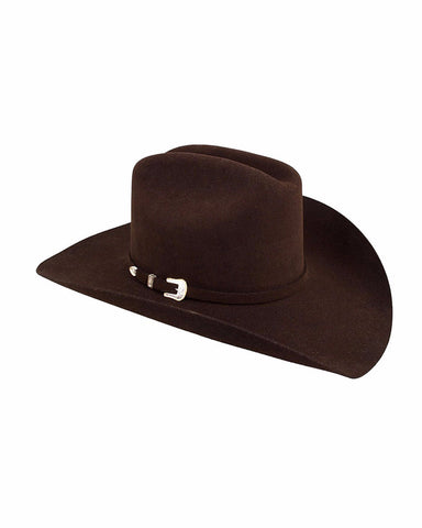 Stetsons 3X Oak Ridge Wool Hat - Chocolate
